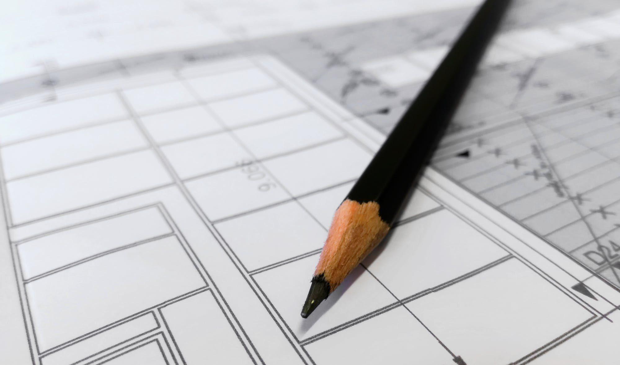 Plano vivienda diferencia entre superficie útil, construida y computable