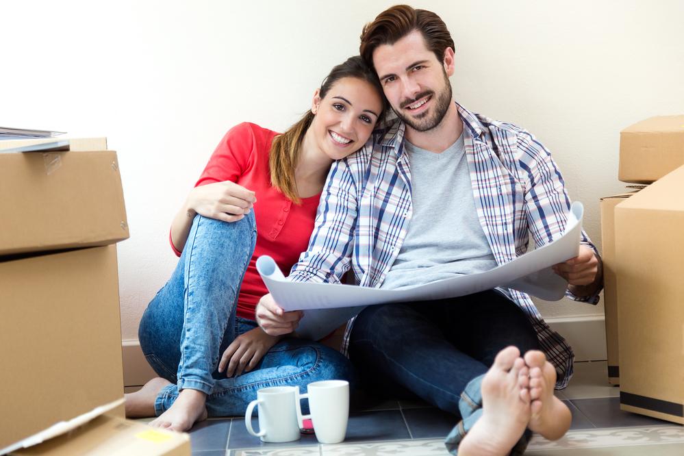 mudanza casa nueva pareja